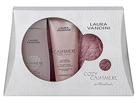 LAURA VANDINI Geschenkset Cozy Cashmere, Shower Cream 250 ml, Body Lotion 200 ml, 1er Pack (1 x 1 Set)