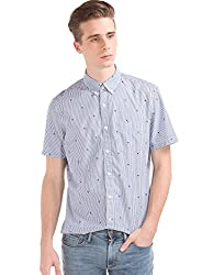 GAP Mens Casual Shirt (142121000054_32235512000_XX-Large_Comet Blue)