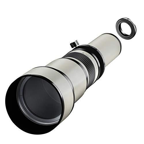 Samyang MF 650-1300mm F8.0-16.0 Canon EOS EF – DSLR, CSC Zoom-Linsenobjektiv, Teleobjektiv, manueller Fokus, Filterdurchmesser 98 mm, für Vollformat und APS-C Sensor