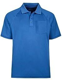 3414372f30a05c MOHEEN Herren Poloshirt/Funktionsshirt in Übergrößen S bis 6XL - für Sport  Freizeit und Arbeit,…