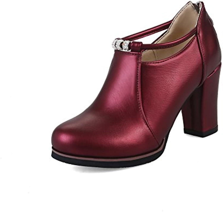 An Dku01705,  s Compensées Femme - Rouge - - - Bordeaux, 36.5B078B9PBB1Parent a7f3a6