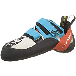 La Sportiva Otaki, Zapatos de Escalada para Hombre, (Blue/Flame 000), 40 EU
