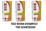NEO MOM SHAMPOO ANTIPARAS150ML TRE CONFEZIONI