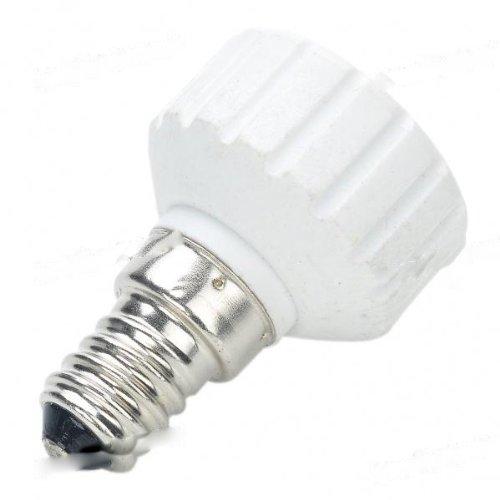 BestOfferBuy - Adaptateur convertisseur de lampe avec une ampoule à douille GU10 vers E14