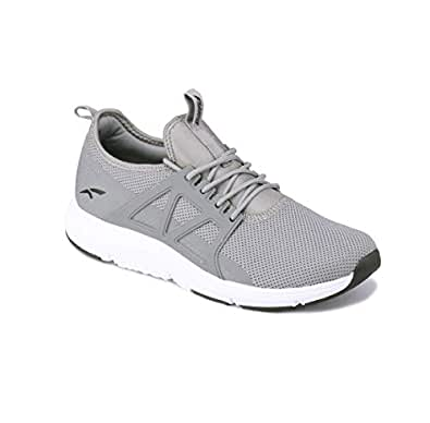 FURO Men's Mesh Grey Running Shoes-7 UK