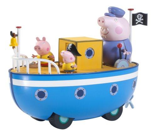 Character Options Peppa Pig en el barco del abuelo