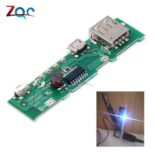 5V 1A Power Bank Charger Board Lade Leiter Leiterplatten-StromVersorgung Step-Boost-Modul Handy für 18650 Batterie DIY - Boost-handys