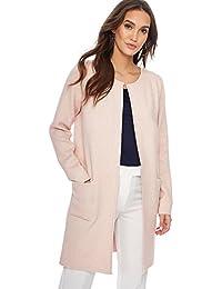 Debenhams The Collection Womens Light Pink Longline Coatigan