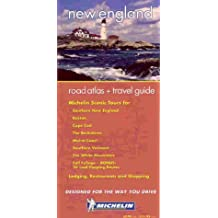 Michelin Road Atlas & Travel Guide : New England (Michelin Regional Atlas & Travel Guide New England)