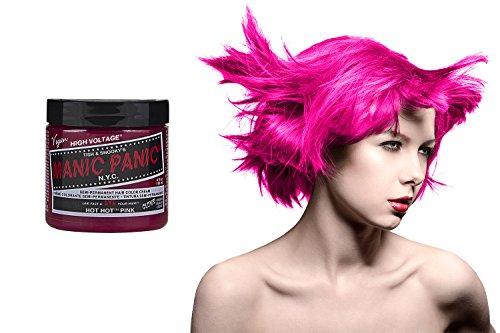 Manic Panic Haarfarbe, vegan, semi-permanent, Hot Hot Pink