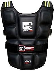 Sporteq Ajustable Chaleco lastrado para Pro Gimnasio Entrenamiento Running Chaqueta de Fitness pérdida de Peso 6