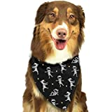 Sdltkhy Cute Halloween Cartoon Character Triangle Bandana Scarves Accessories for Pet Cats And Dogs - Gifts