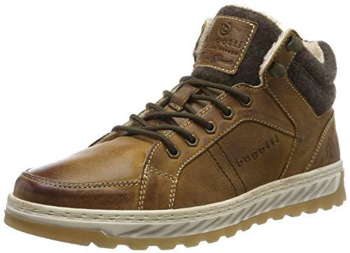bugatti Herren 321794513200 Hohe Sneaker, Braun, 43 EU