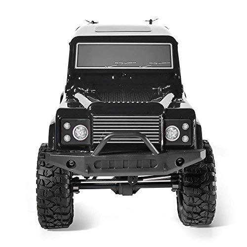 @MZL Crawler RC 1:10 LKW 4x4 RC Crawler 4wd Off Road Rock RC Auto mit Beleuchtung elektrische Wasserdichte Rock Cruiser Hobby Spielzeug für Kinder,Gray