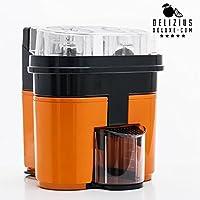 Delizius Deluxe Double Orange Juicer - Exprimidor eléctrico, 90 W