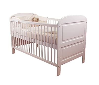 East Coast Angelina Cot Bed (White) produced by East Coast - quick delivery from UK.