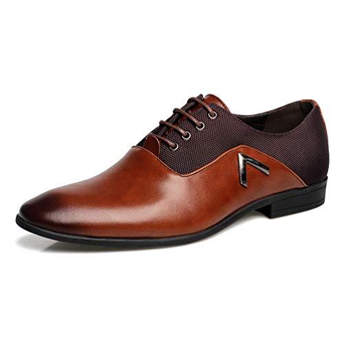 Männer Casual Shoes Business-Leder elegant Design Schuhe (Izod-uniformen)