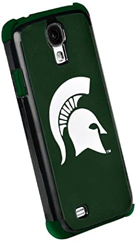 Forever Collectibles NCAA Michigan State Spartans Dual Hybrid Hard Samsung Galaxy S4 Case by Forever Collectibles