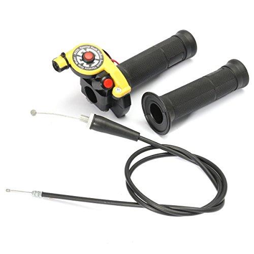 Alamor 22Mm 7/8 inch Twist Manette Poignée avec Câble 125Cc 140Cc 150Cc Pit Bike