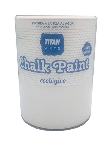 Chalk Paint Titan Pintura a la Tiza Ecológica 750 ml (200 Merengue Blanco)