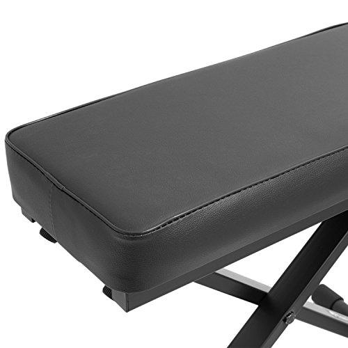 Tiger PST7-BK Banquette réglable - pour Piano et Claviers - Noir