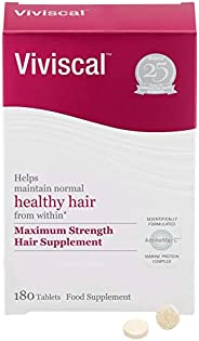 Viviscal Advanced Hair Health Supplements For Women 3 month supply, 180 tabs