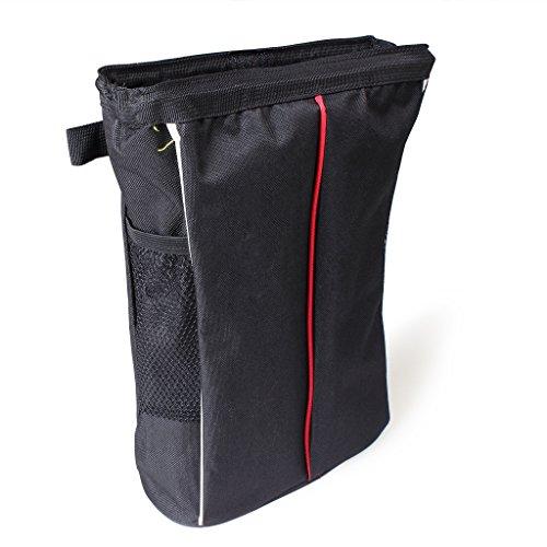 Preisvergleich Produktbild EFORCAR Wasserdichte Autofahrzeug-Rücksitz-Kopfstütze Abfall-Abfall-Müllsack mit Pinning-Funktion