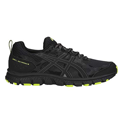 ASICS Men's Gel-Scram 4 Black Trail Running Shoes-9 UK/India (44 EU)(10 US)(1011A045.001)