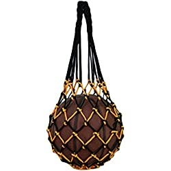 Katech Personal baloncesto bolsa de malla red para bola de moda bolsa de almacenamiento para fútbol, voleibol y fútbol