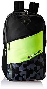 Gear 26 Ltrs Black Laptop Backpack (LBPECOPL30103)