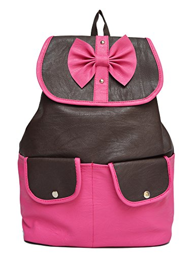 Vintage Women'S Backpack Handbag(Pink,Bag 333)  available at amazon for Rs.435