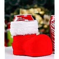 DAMENGXIANG Bolsa De Botella De Vino Dulces Adornos Navideños Botas De Navidad Año Nuevo Cena En