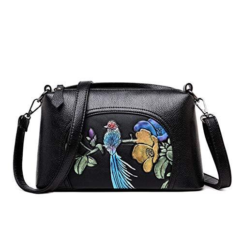 Damen Schultertasche Leder Handtaschen Crossbody Bag -