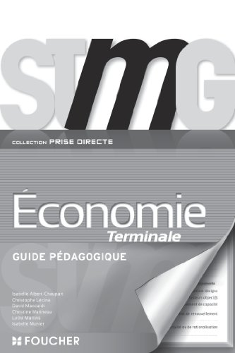 Prise directe Économie Tle Bac STMG G.P