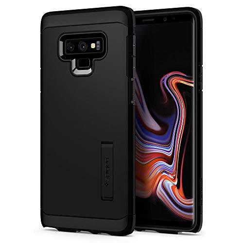 Spigen [Tough Armor Samsung Galaxy Note 9 Hülle (599CS24575) Stoßabweisende Doppelte Schutzschicht Handyhülle für Extrem Fallschutz Schutzhülle Case (Schwarz)
