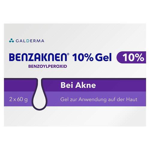 Benzaknen 10% Gel, 2X60 g