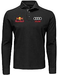 ZETAMARKT T-Shirt Polo Manica Lunga Audi Quattro Fan Personalizzata MLN010 0e07e9a45e18