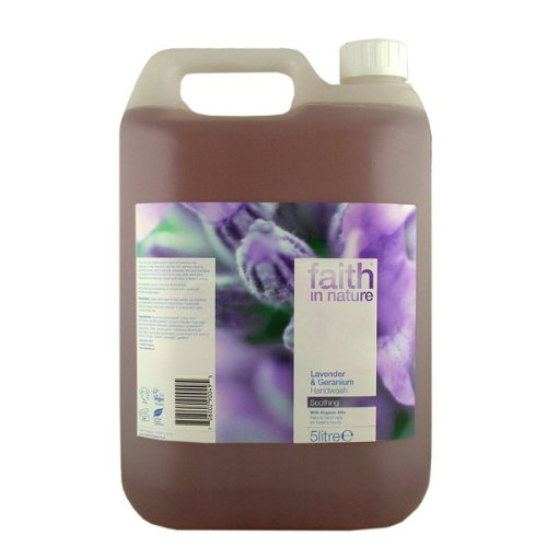 Faith in Nature Lavender and Geranium Bulk Shampoo 5Litre