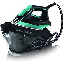 Rowenta - Centro de Planchado VR8221 Powerstam 6 Bar, potencia 2200W, golpe vapor 300g/min, suela MicroSteam 400 láser, sistema antical integrado, capacidad 1,5 L, Modo Eco (Reacondicionado)