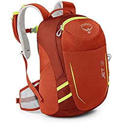Osprey Jet 12 Unisex Youth Hiking Pack - Strawberry Red (O/S)