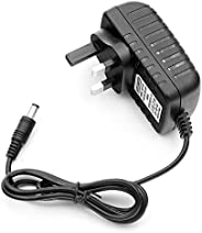 Universal Power Adapter AC 100-240V DC 12V 2A Supply Charger Adapter for LED light Strips CCTV Camera