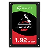 Seagate 4 TB IronWolf Disque dur interne 3.5' pour NAS 1-8 Bay (5900 RPM, 64 MB Cache, 180 TB/year Workload Rating, Up to 180 MB/s, Model : ST4000VNZ08/VN008)