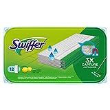 Swiffer - Panni umidi per scopa, 12 pezzi