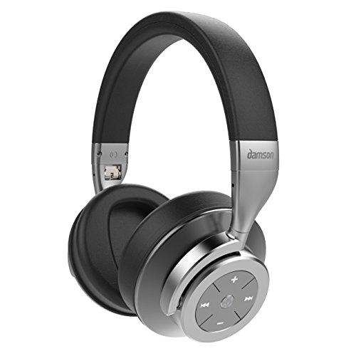 Damson HeadSpace Bluetooth Wireless Over Ear Active Noise Cancelling Headphones