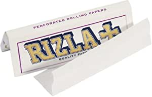 Rizla White Cigarette Rolling Papers - 10 packets