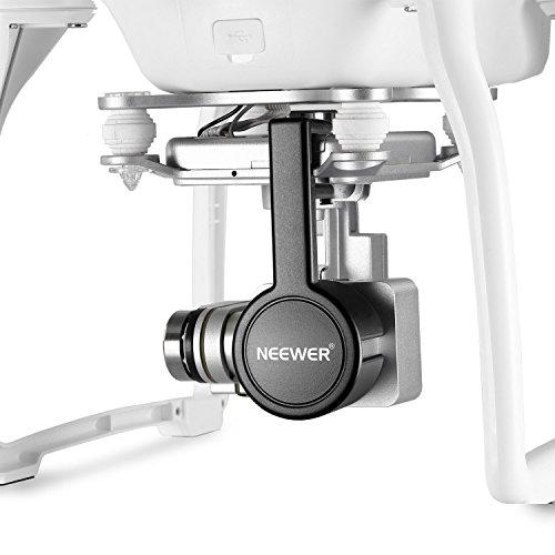 Neewer® für DJI Phantom 3 Standard, Professionelle und Erweiterte Schutz- Kamera Objektiv Kappen-Schutz-Abdeckung aus hochwertigen ABS-Kunststoff - Schwarz - 4