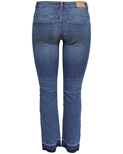 JACQUELINE de YONG Jeanshose JDYSKINNY REGULAR MAGIC TREND ANCLE JEANS 15147470 Medium Blue Denim