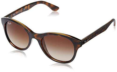 Ray-Ban Gradient Round Unisex Sunglasses - (0RB4203710/1351|51|Brown Gradient) image