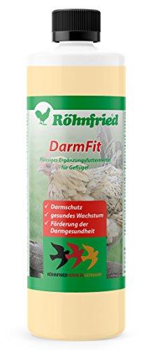 Röhnfried – DarmFit Ergänzungsfuttermittel mit Spurenelementen Konzentrat (5 ml/ Liter Trinkwasser) für Geflügel: Hühner, Puten, Gänse, Enten | Immunabwehr und Darmgesundheit (1000 ml)