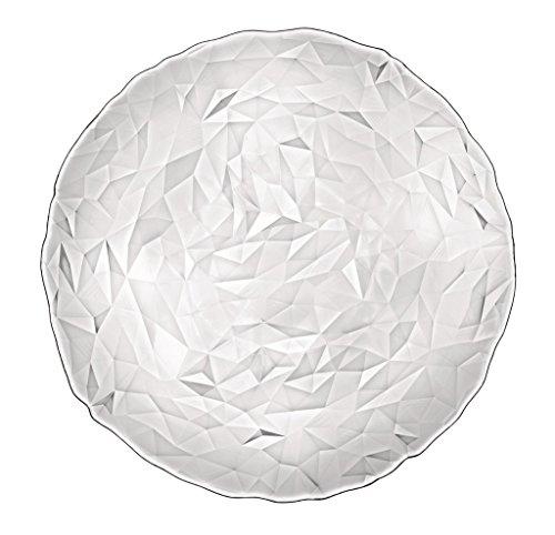 BORMIOLI ROCCO Assiette Diamant, Verre, Transparent Lot de 6